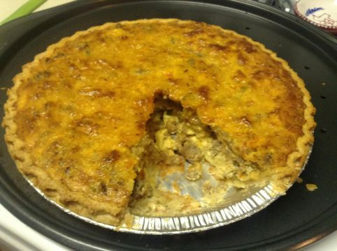 Country Boy Quiche