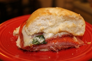 The Italian Deli Sandwich