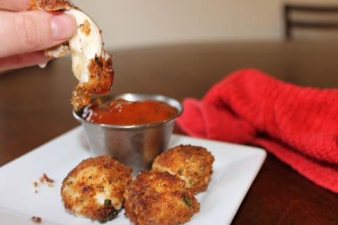 Fried Mozzarella Bites