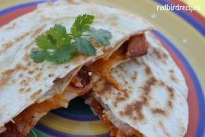 Slow Cooked Pork Quesadillas