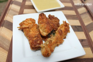 Crispy Salmon Fish Sticks