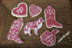 Texas A&M Aggie Cookies