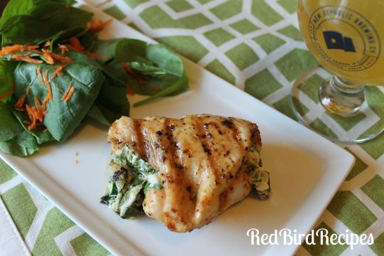 Stuffed Spinach Chicken