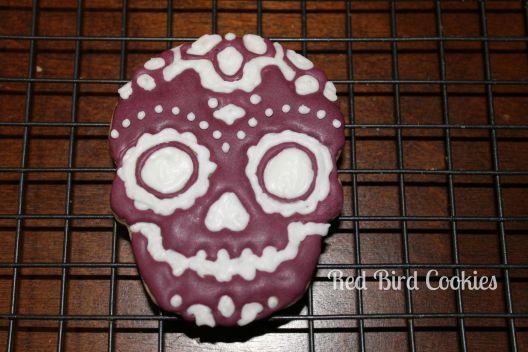 Maroon Skull