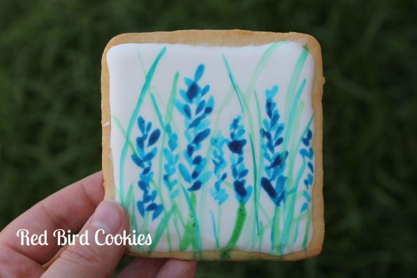 Water Color Cookies